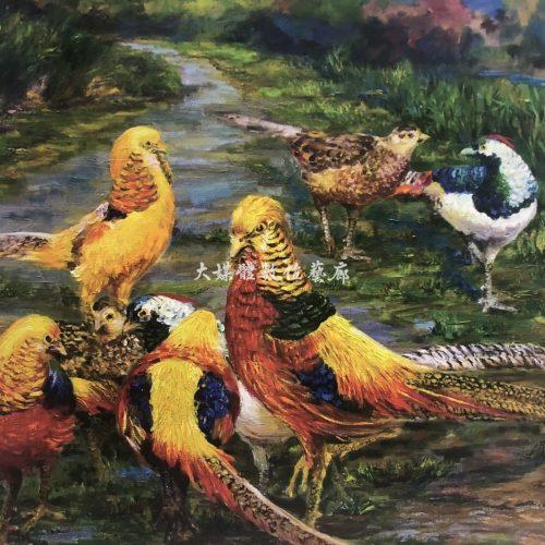 油畫 華麗族群