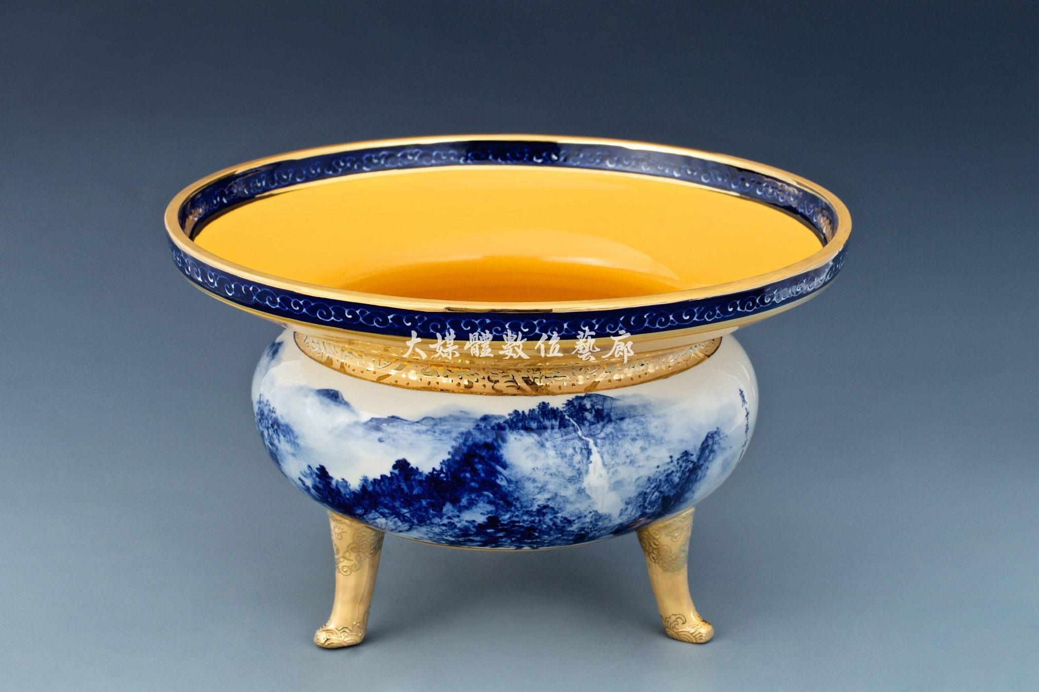 陶瓷 杳杳潺湲